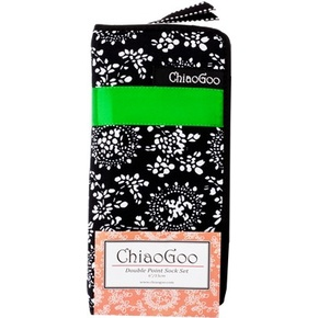 ChiaoGoo Bamboo DPN Sock Set 15cm 6in